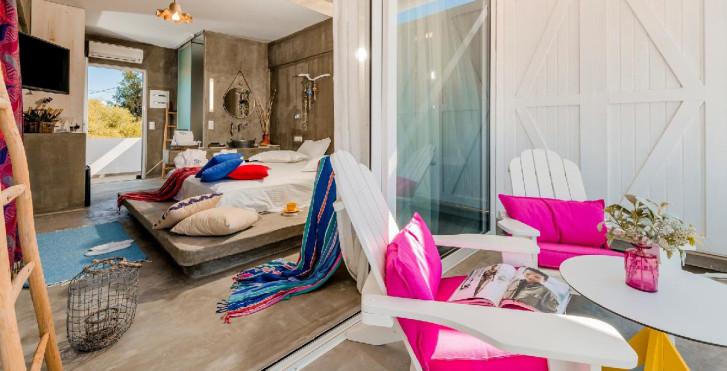 Chambre double Deluxe - Hôtel Kouros Exclusive