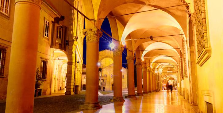 Arcades, Bologne