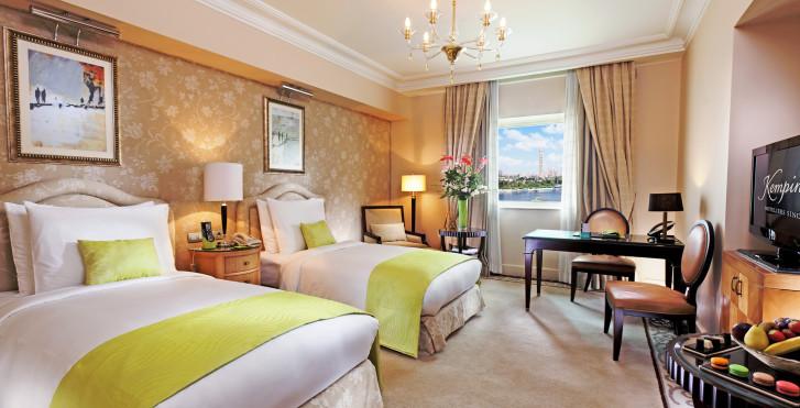 Doppelzimmer Superior Nile - Kempinski Nile Hotel Garden City Cairo