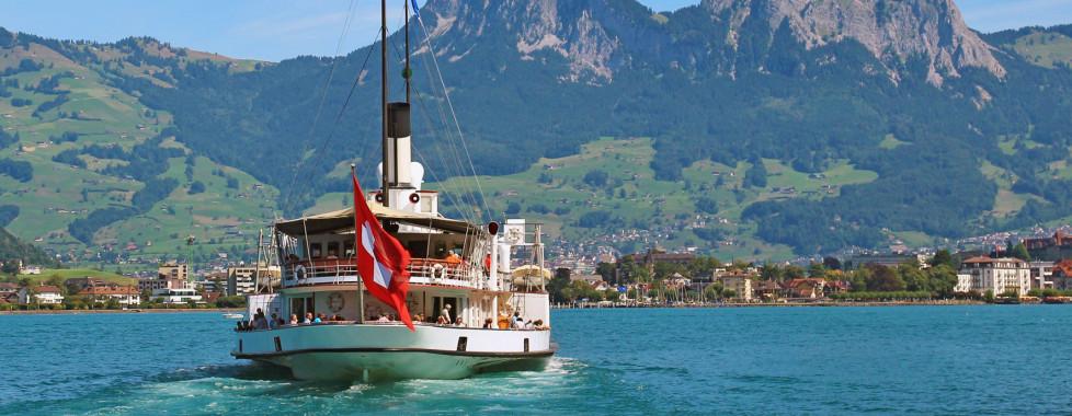 Excursion en bateau sur le lac des Quatre-Cantons