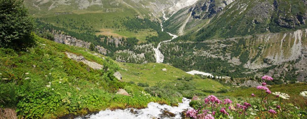 Le paysage de Zinal