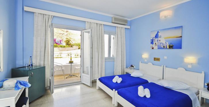Chambre double - Hôtel Glaros