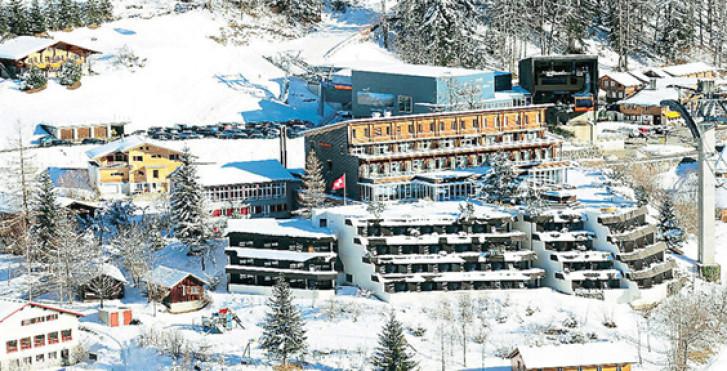 Das Hôtel Panorama