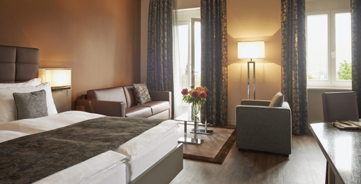 Suite Junior - Hôtel Belvedere Locarno