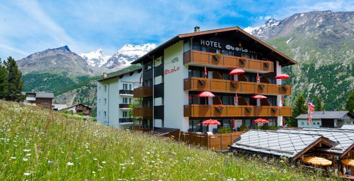 Hôtel Alpenlodge Etoile, été, remontées mécaniques incluses