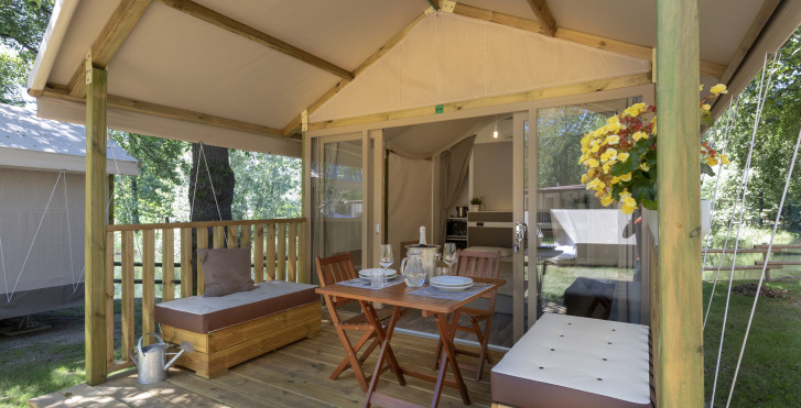 Zelt - Camping Conca D'Oro