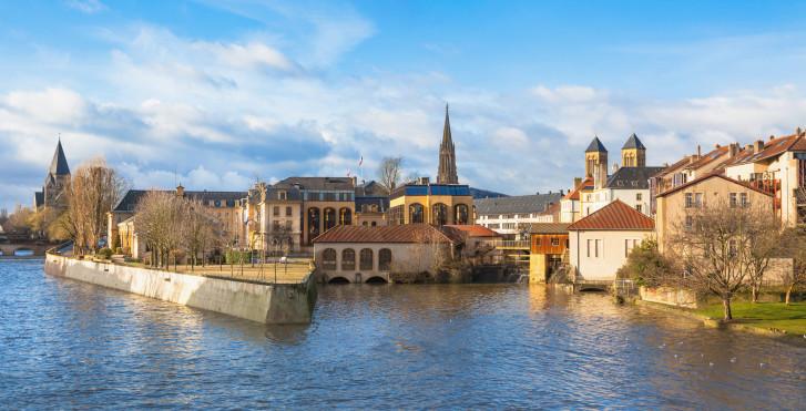 Mosel, Metz