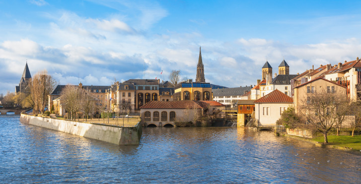 Moselle, Metz