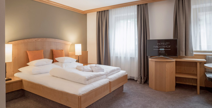 Chambre double Flair - Hôtel Tyrolerhof