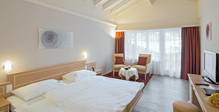 Doppelzimmer - Hotel Schweizerhof Gourmet & Spa