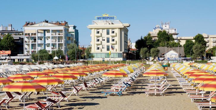 Italien Hotel Metropole Rimini