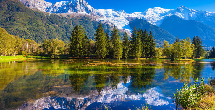 Bergsee bei Chamonix