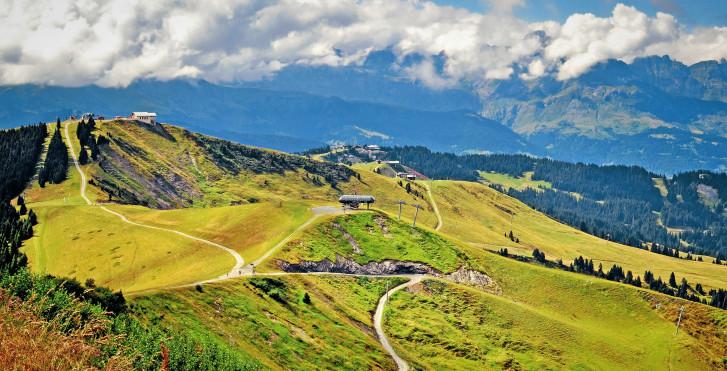 Alpes savoyardes en été