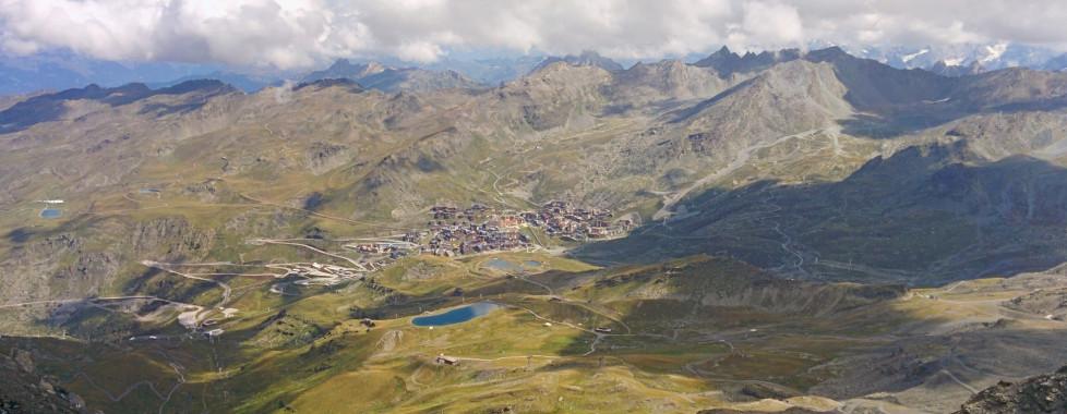 Vue panoramique du Cime Caron