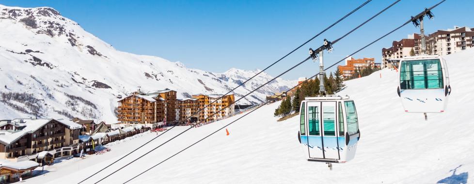 Les Menuires im Skigebiet Les 3 Vallées