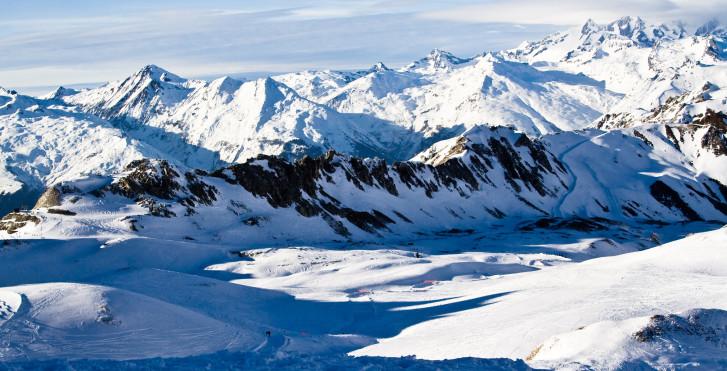 Arc 2000 im Winter
