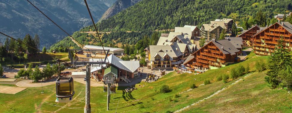 Remontée méchanique en Alpe d'Huez