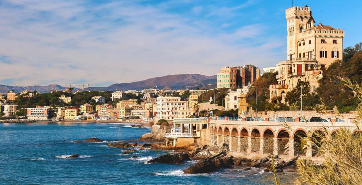 Küste bei Genua