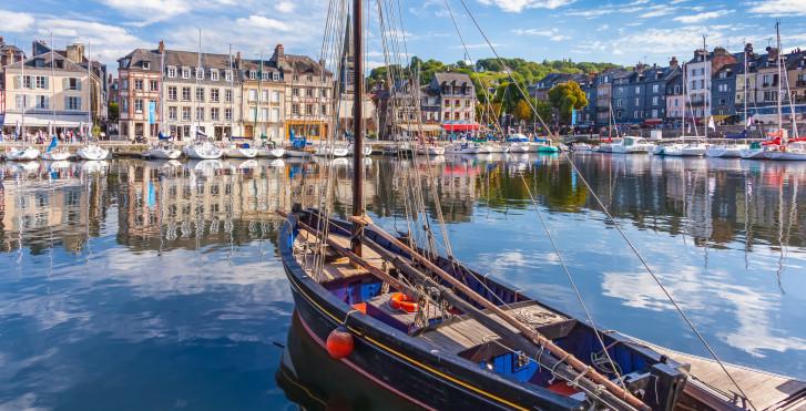 Port Honfleur, Normandie