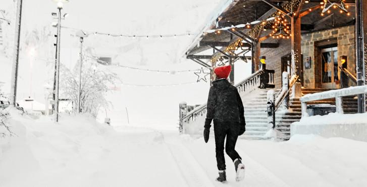 Weihnachten in Ruka / Kuusamo, Lappland