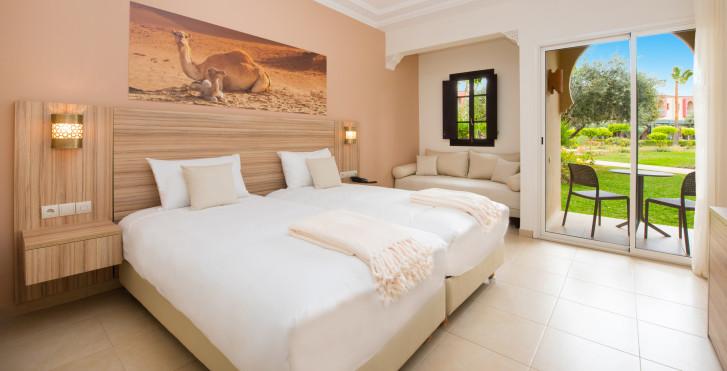 Chambre double vue parc - Iberostar Club Palmeraie Marrakech