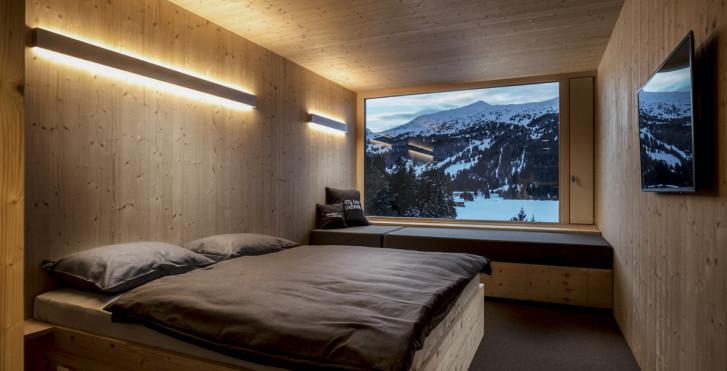 Chambre XL Cabin - Revier Mountain Lodge Lenzerheide, forfait ski
