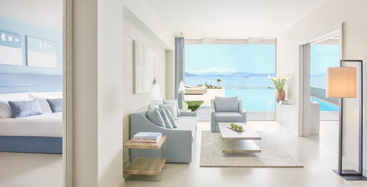 Suite Mit 2 Schlafzimmer   Ikos Dassia