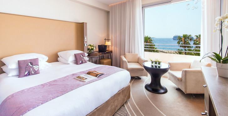 Chambre double Deluxe vue mer - Radisson Blu 1835 Hotel & Thalasso Cannes