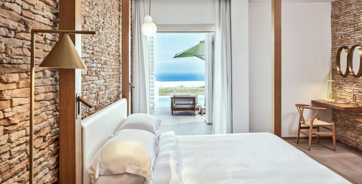 Naia Suite avec piscine privée - Myconian Naia Luxury Suites