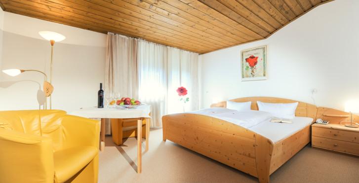 Chambre double - Hôtel Tirolerhof Leutasch