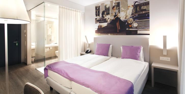 Doppelzimmer - Hotel City Lugano