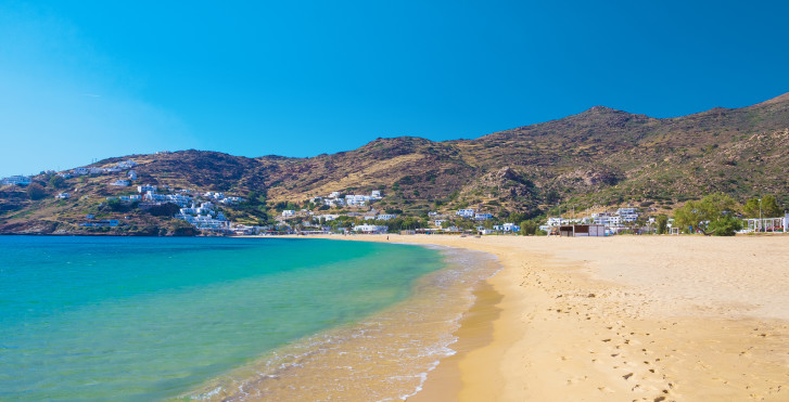 Strand von Mylopotas, Ios