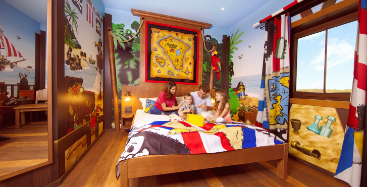 Pirateninsel Zimmer - LEGOLAND® Feriendorf – Pirateninsel Hotel inkl. Parkeintritt