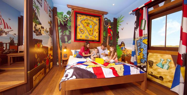Chambre Île aux pirates - Village de vacances LEGOLAND® – Pirate Island Hotel incl. entrée parc