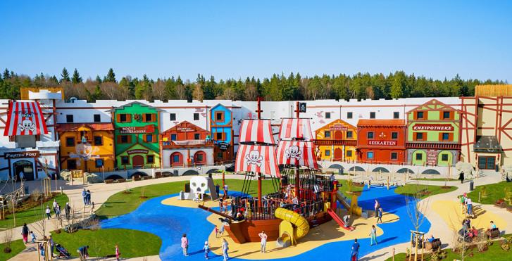 Image 36422406 - Village de vacances LEGOLAND® – Pirate Island Hotel incl. entrée parc
