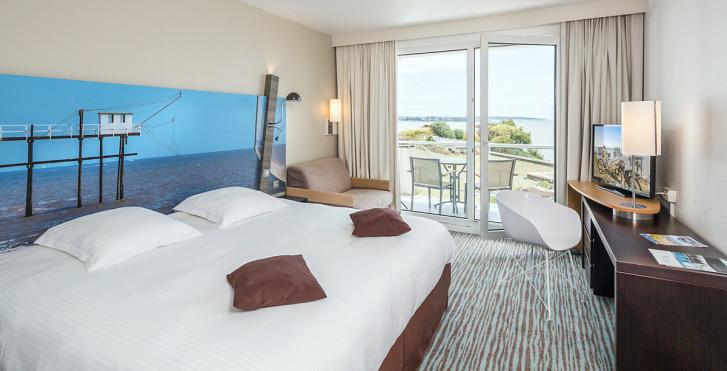 Doppelzimmer - Hotel Cordouan Thalazur Royan