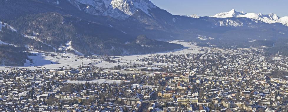 Garmisch-Partenkirchen en hiver