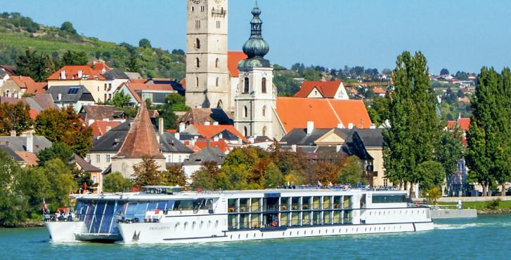 Image 30577099 - Vélo et bateau: Primadonna, véloroute du Danube / Passau-Vienne-Passau