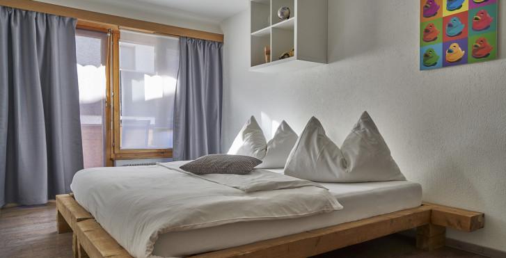 Doppelzimmer - Hotel Marmotte - Sommer inkl. Bergbahnen