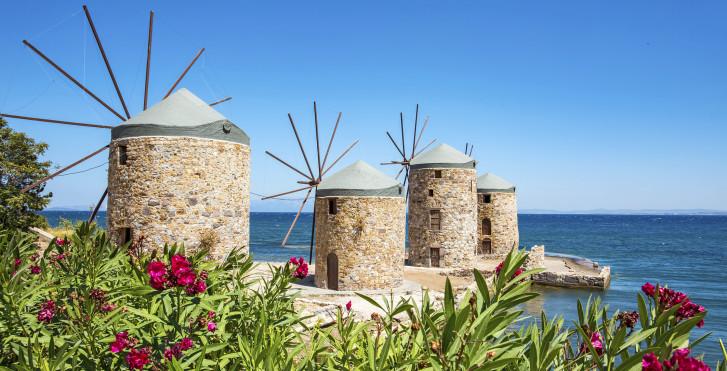 Windmühlen auf Chios