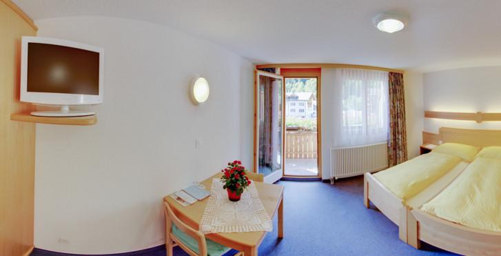 Chambre double - Wellnesshotel Alpenblick