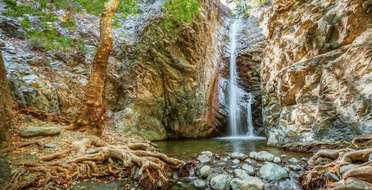 Millomeris Wasserfälle