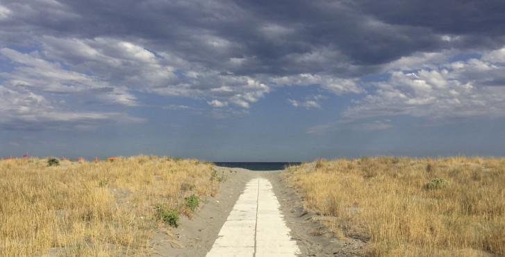 La plage de Nova Siri Scalo