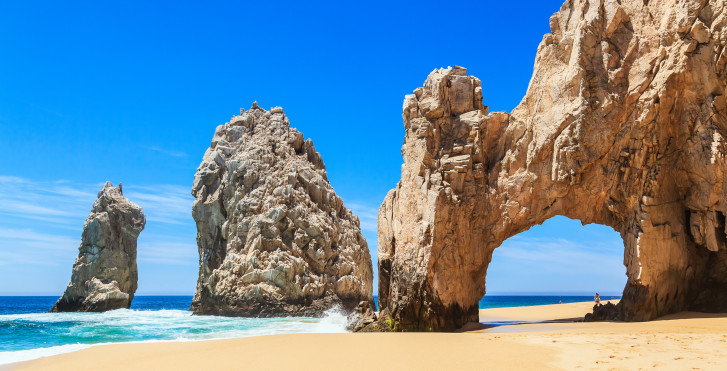 El Arco de Cabo San Lucas, Baja California, Mexique