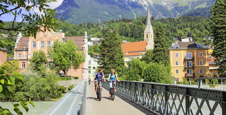 © TVB Innsbruck, Cugola - Bikeschaukel Tirol Landeck–Innsbruck