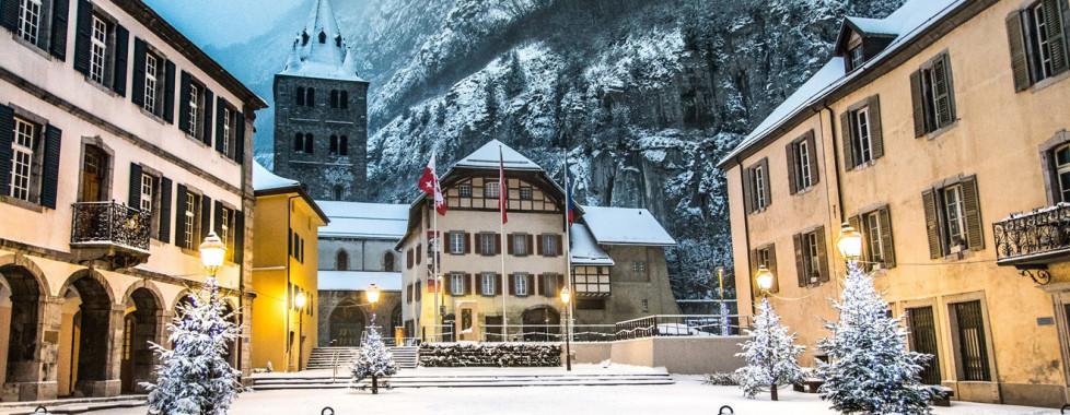 Centre du village Saint-Maurice ©Tintinphotographie