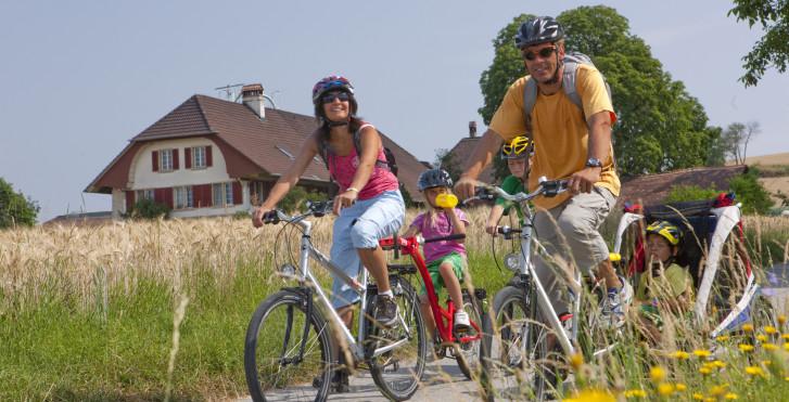 Bild 31551398 - Mittelland-Route für Familien: Aare & Drei-Seen-Land