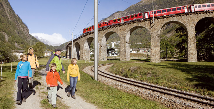 Wanderung: Via Albula & Bernina