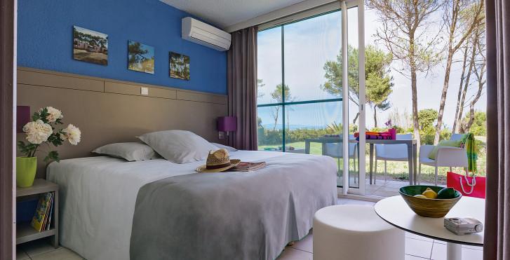 Familienzimmer (2 Zimmer) Typ C6 VIP - Riviera Beach Club «Belambra» Residence