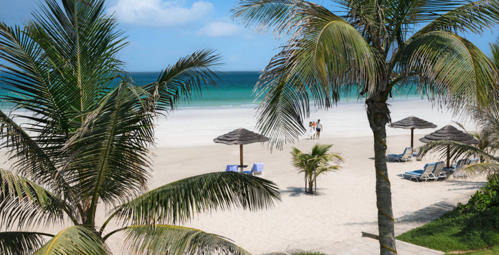 Blick auf den Strand, Ajman